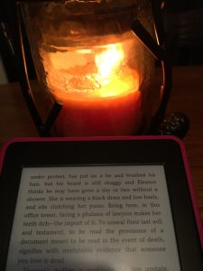 candle-and-reading